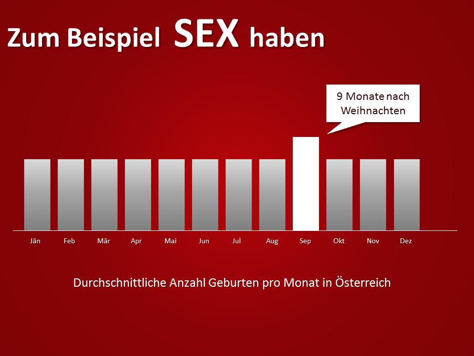 Lieber mehr Sex zu Weihnachten